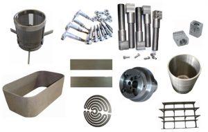 Tungsten components