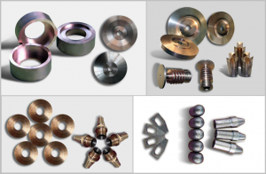 copper tungsten machined part